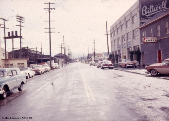 VZ 86-63: SW Macadam Avenue near SW Sweeney Street, 1963: A2011-013