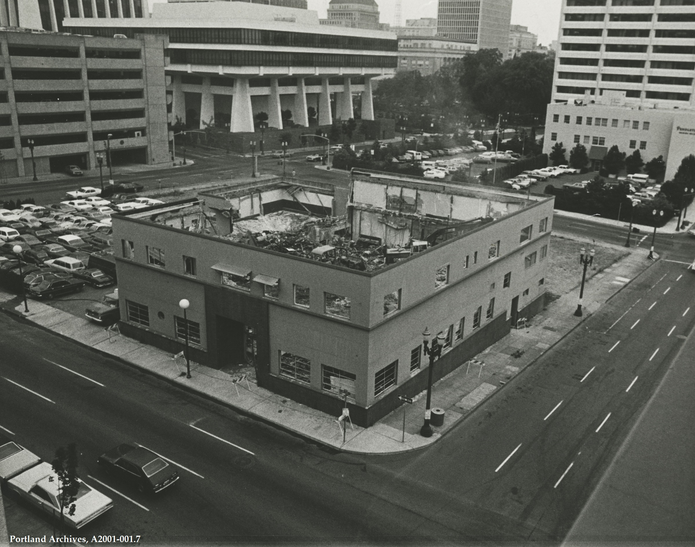 Building Demolition Portland : Clay street vintage portland