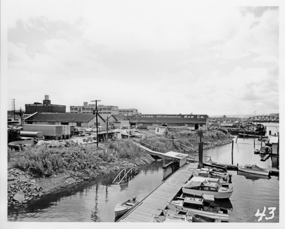 Southeast waterfront, 1955
