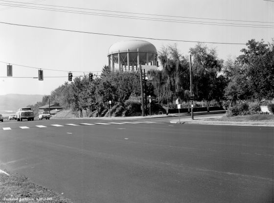 City of Portland, Oregon: Intersection of N Going & Concord looking west, A2012-005, 1974