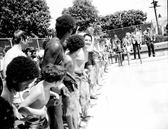 City of Portland Archives, Oregon: Francis Ivancie at Columbia Park Pool, A2012-005, 1972