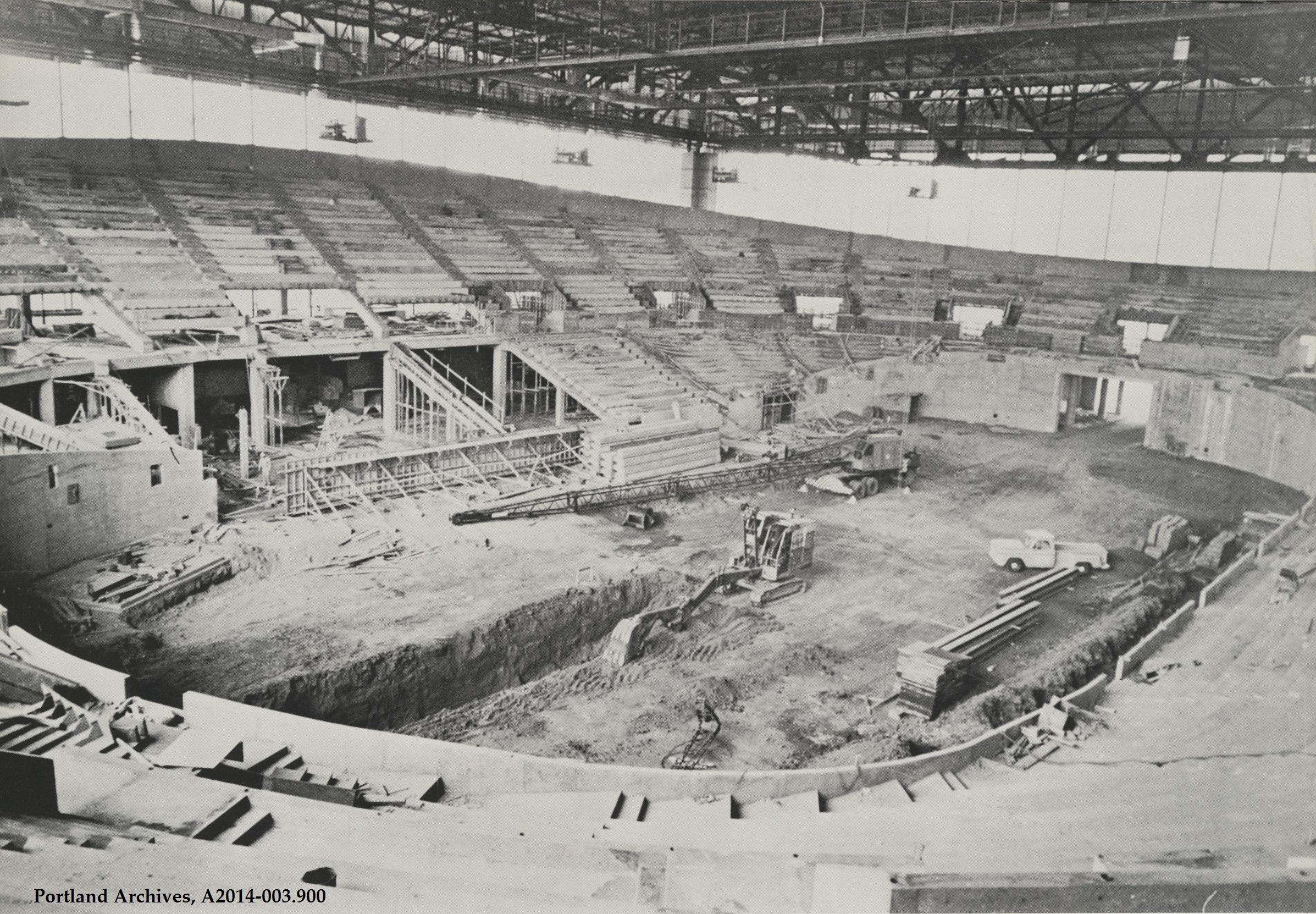 Memorial Coliseum | Vintage Portland