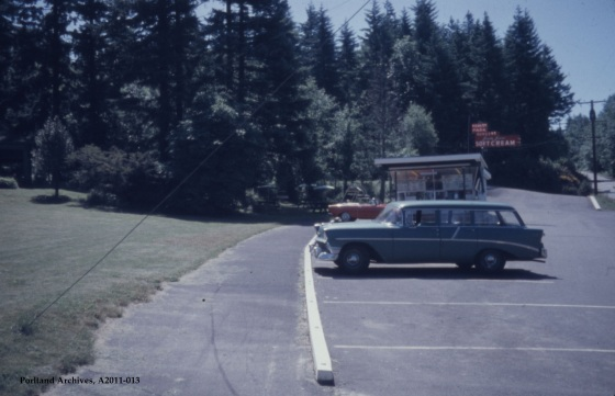 City of Portland Archives, Oregon, View of 8410 NW Skyline Blvd looking south (ZC 4498), A2011-013, 1964.