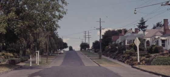 City of Portland Archive, Oregon, NE 17th Avenue near NE Mason Street (CU 46-65), A2011-013, 1965