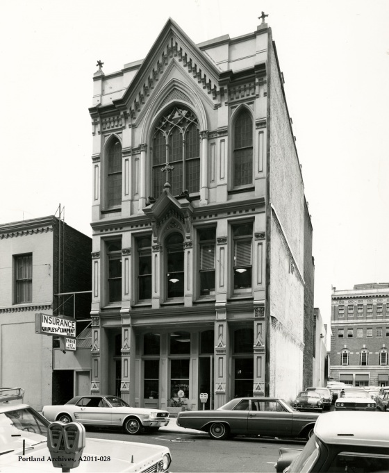 City of Portland Archives, Oregon, Shipley and Company at 223 SW Stark Street, A2011-028, circa 1969.