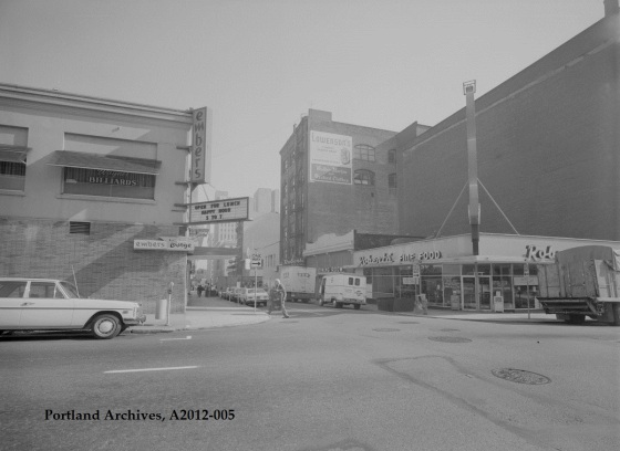 City of Portland Archives, Oregon, Embers Lounge located at 737 SW Park Avenue, A2012-005, 1972.