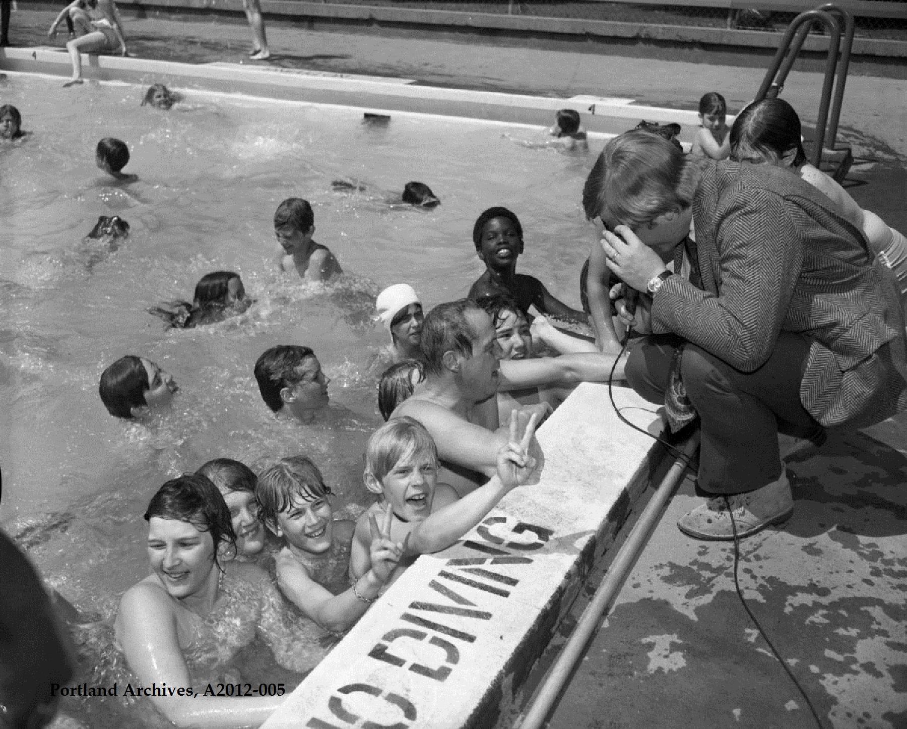Vintage portland vintage portland for Public swimming pools portland or