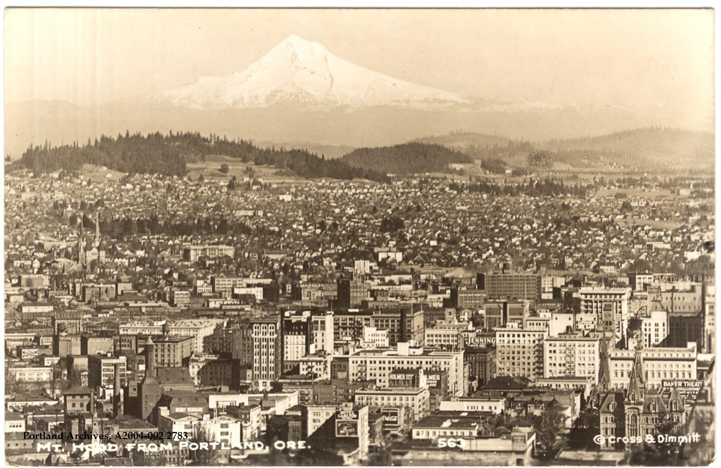 Mt. Hood, 1927 | Vintage Portland
